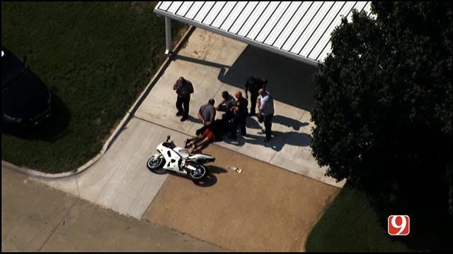 Suspect Arrested After High-Speed Chase Around Oklahoma City