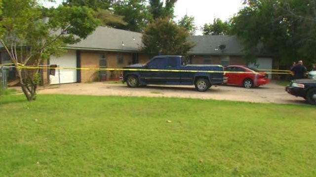 Police Investigating After Woman's Body Discovered At Norman Home