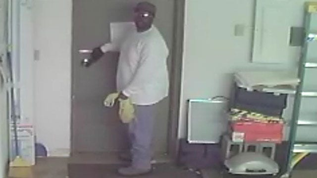 Police Seek Man Who Robbed OKC Business At Gunpoint