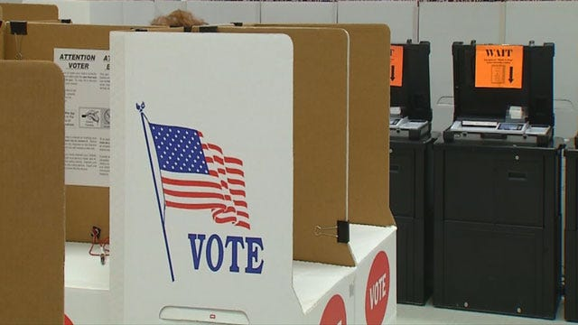 Oklahomans Head To The Polls For Primary Election