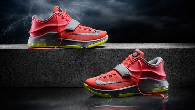 Nike Unveils Kevin Durant's New Signature Shoe, 'KD 7'