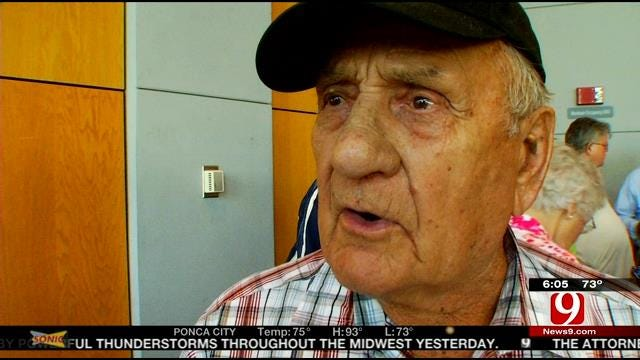 News 9 Visits Norman Vets Taking Off On Honor Flight