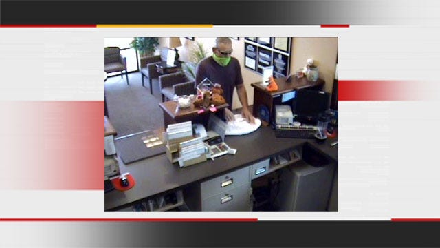 Authorities Seek Suspect Wanted For Pauls Valley Bank Robbery