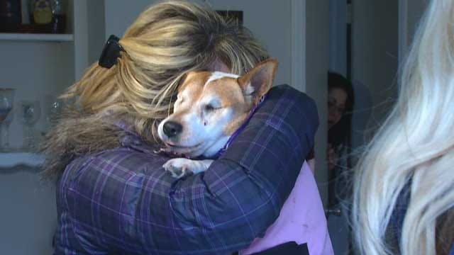Kansas Family Finds Lost, Blind Dog In Norman Thanks To Facebook