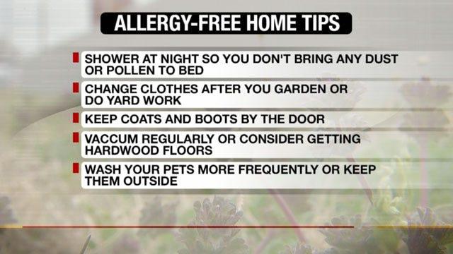 OK Doctor Talks Ways To Soothe Spring Allergies
