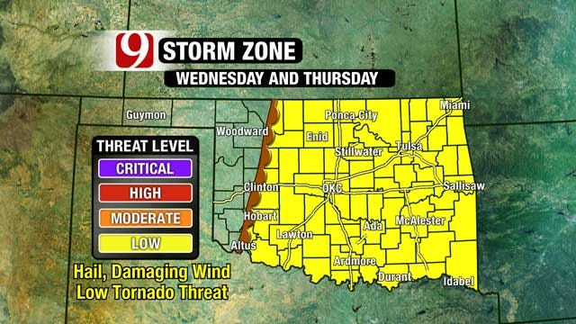 Extreme Fire Danger Saturday, Severe Weather Possible Midweek