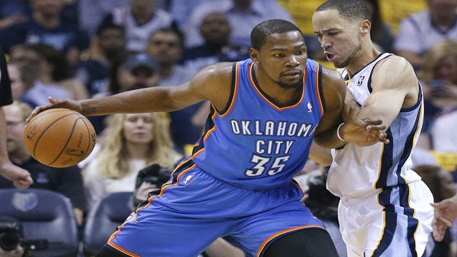 Pretty Dang Reliable: Durant's 36 Leads Thunder To Game 7