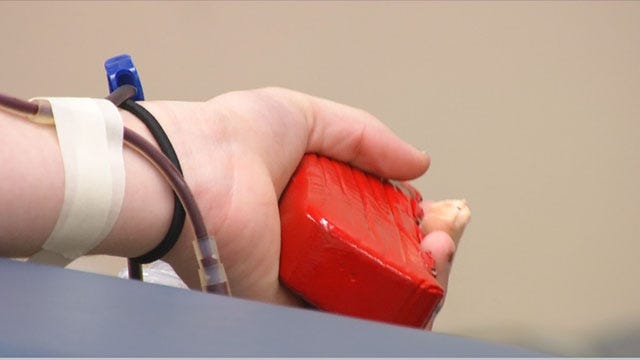 Okla. Blood Institute In Need Of Donations Ahead Of Holiday