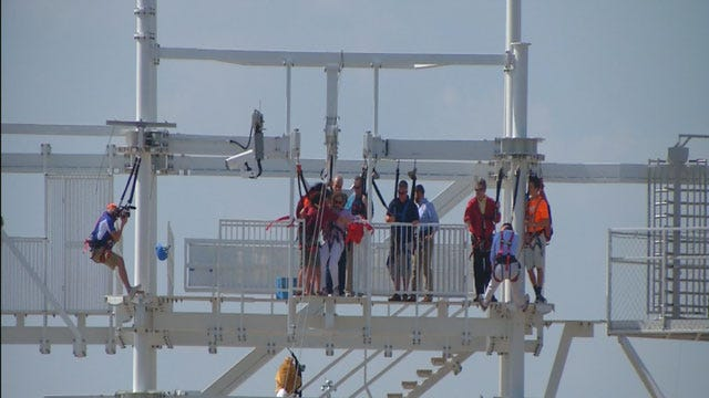Oklahoma Leaders Welcome State's Newest Tourist Attraction