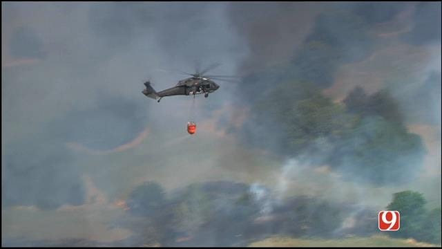 More Residents Evacuated As Logan Co. Grass Fire Rekindles