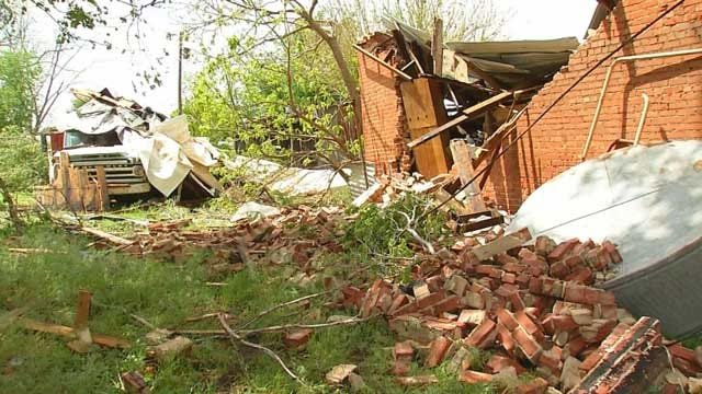 Storm Damages Nearly 30 Structures In Gracemont