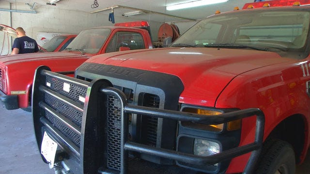 Lincoln County Man Accused Of Breaking Into Fire Station, Stealing Fire Truck