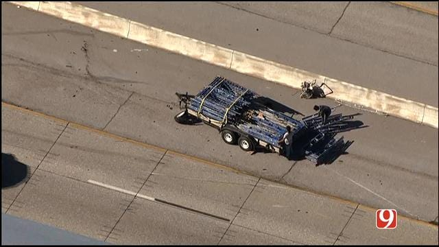 Accident Affecting Traffic On I-44 In NW OKC