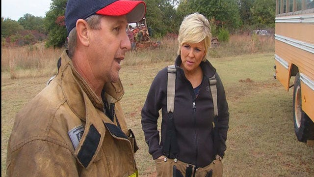 Get Out Alive: OK Firefighters Offer Advice On Escaping Burning Bus