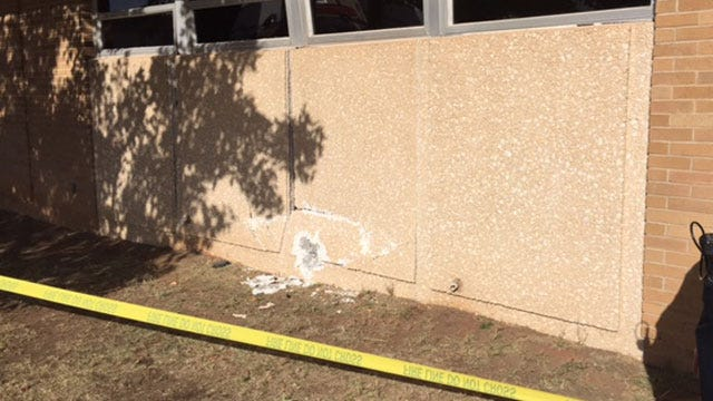 No One Injured After Car Hits Canadian Co. Courthouse In El Reno