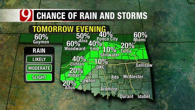 Summer-Like Temps Hang On In OK As Rain Approaches For The Weekend