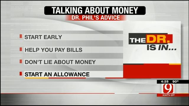 Dr. Phil's Advice: Kids And Money