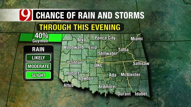 Showers And Cooler Temperatures Expected Into The Weekend