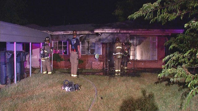 Crews Put Out Two Fires In OKC Overnight; No One Injured