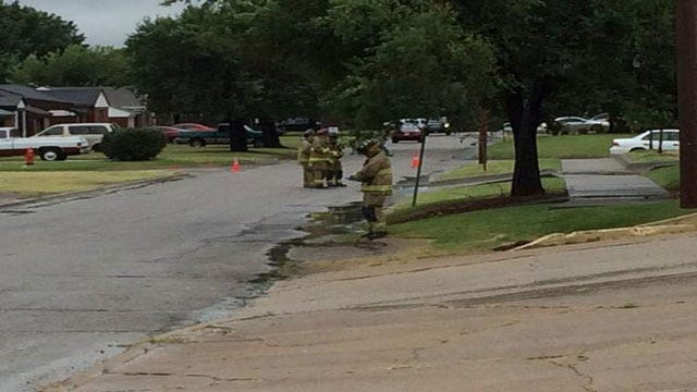 Crews Contain Chemical Spill In Oklahoma City