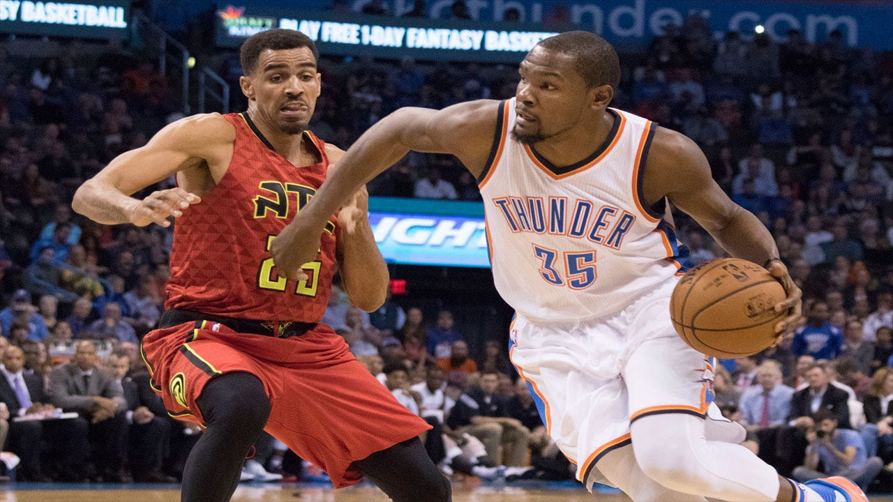 Thunder Make It Three Straight Wins With Double-Digit Victory Over Hawks