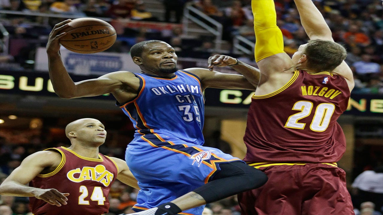 Streak Snapped: Thunder Fall To Cavs Behind LeBron's Huge Game