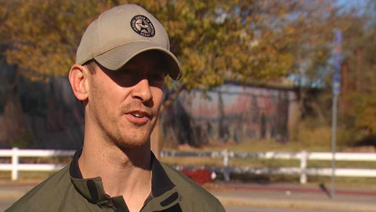 Oklahoma Law Enforcement Officer Recalls Extreme Deer Vs. Car Collision