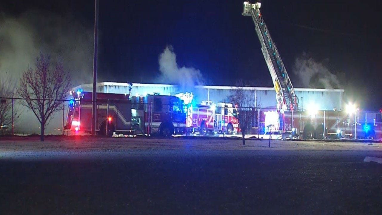 Officials Look Into Cause Of Fire At SE OKC Warehouse