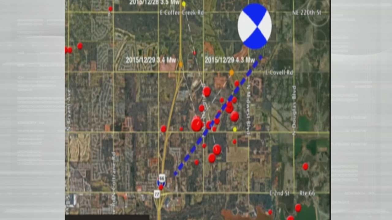 USGS Seismologist Says Edmond Earthquake Reactivated Fault