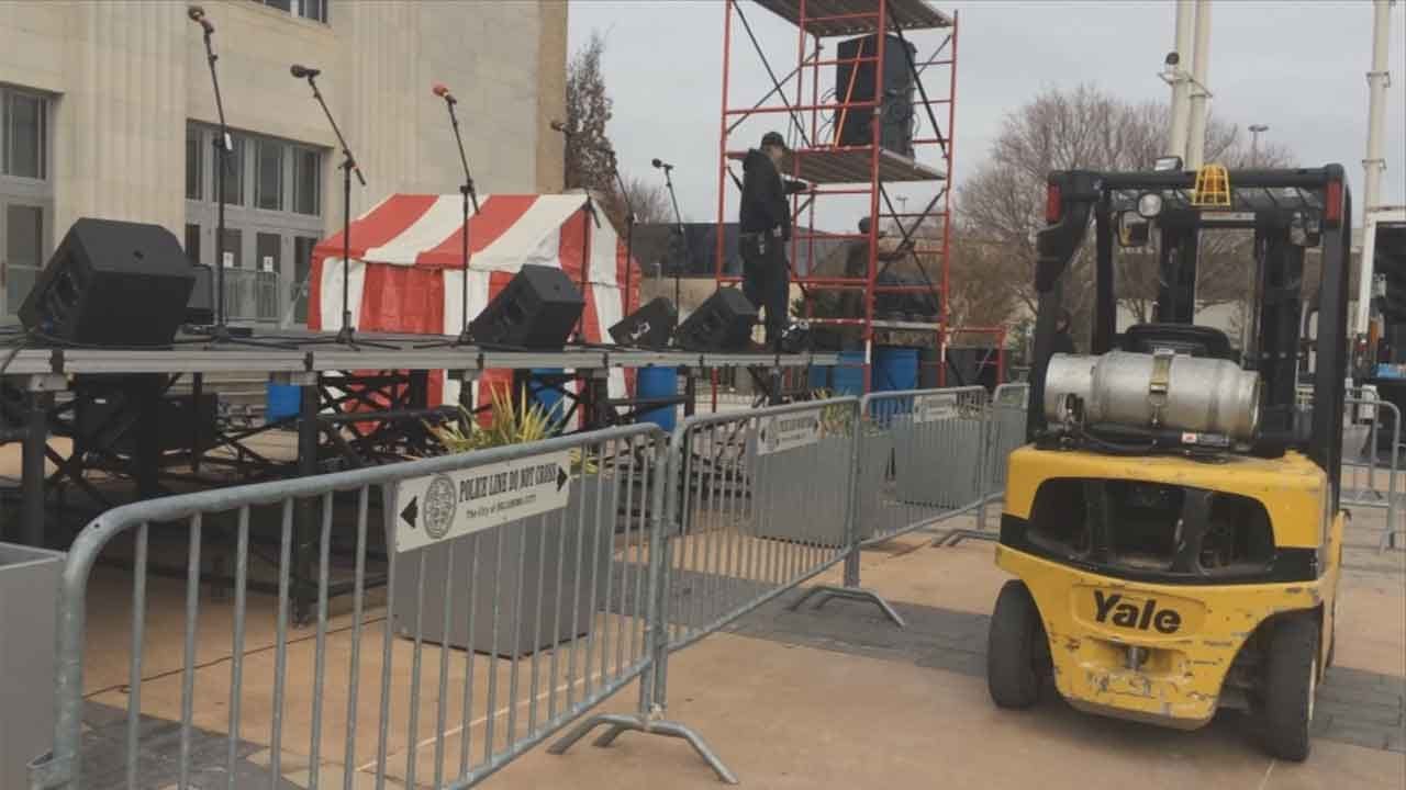 OKC Police Step Up Security For New Year's Eve Celebrations