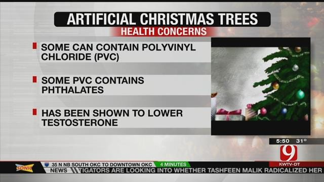 Is Your Artificial Christmas Tree Making You Sick?