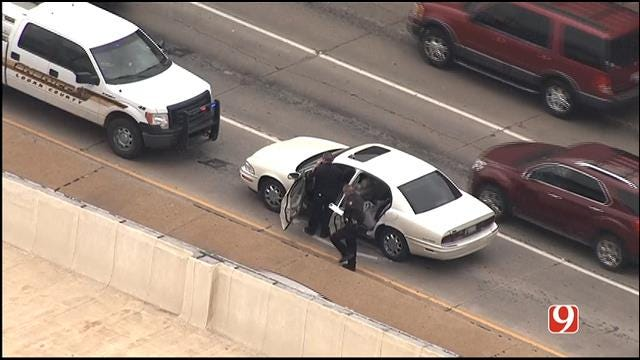 Man Arrested After Leading Authorities On Chase In Edmond