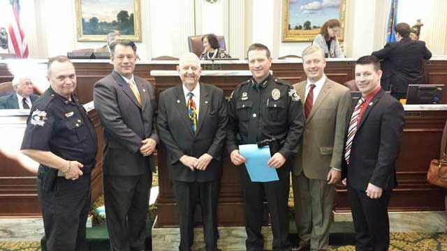 Deputy Recognized At State Capitol For Heroic Acts During Vaughan Foods Attack