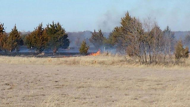 Crews Have A Grip On Grass Fire Near Edmond