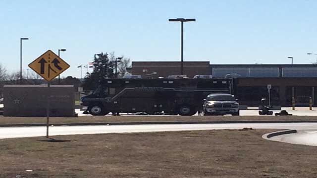 OCSO Bomb Squad: 'Suspicious Device' At Tinker Air Force Base