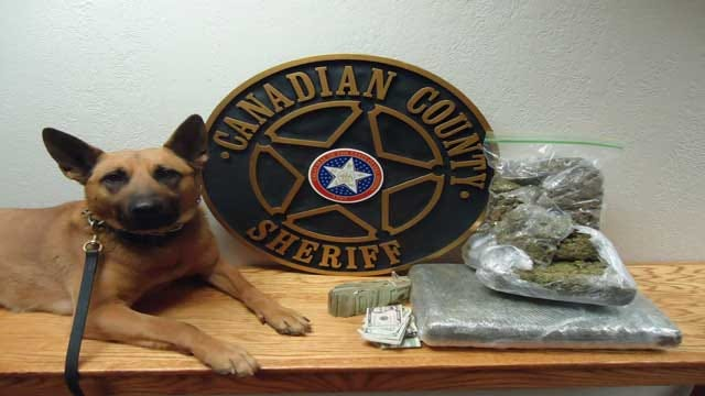 Canadian County Sheriff's Office Makes Drug Bust on I-40