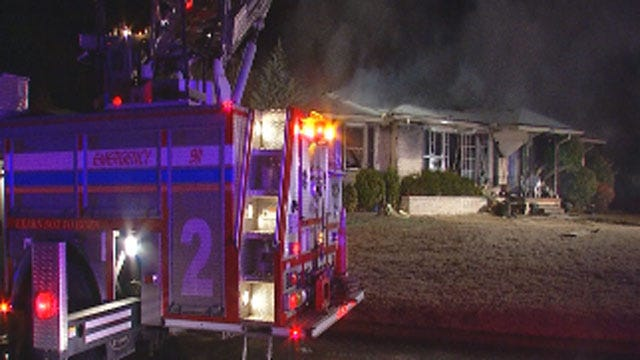 Firefighters Put Out Two House Fires In Midwest City