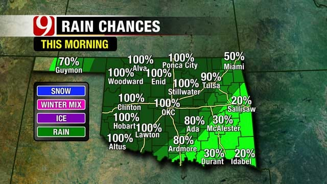 Rainy and Windy This Week In Oklahoma