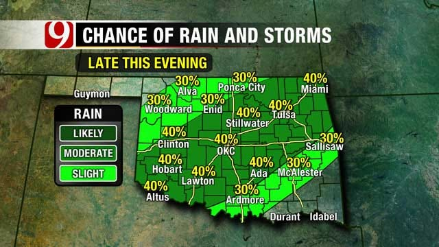 Showers Bring Threat Of More Flash Flooding In Oklahoma
