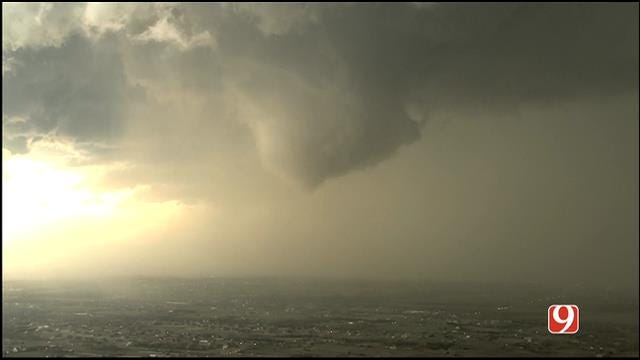 Tornadoes Touch Down As Severe Weather Moves Through OK