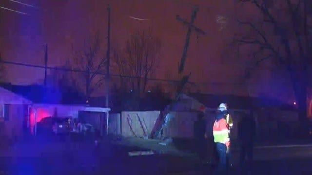 Hundreds Without Power Following Hit-And-Run Crash In Bethany