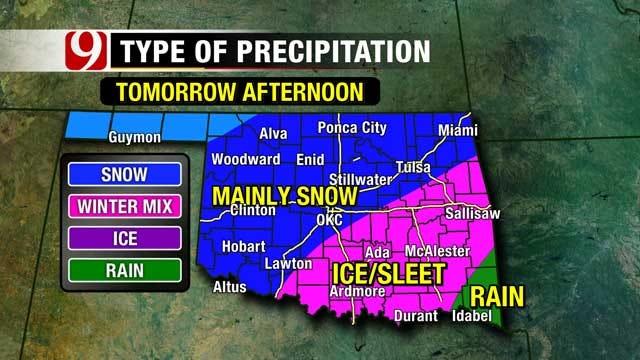 Oklahoma Bracing For Winter Wallop