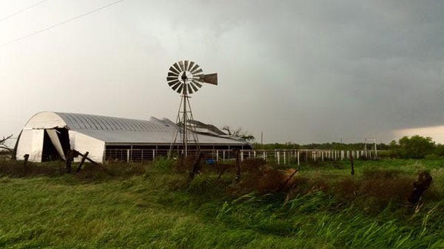 Severe Storms Cause Damage In Western OK