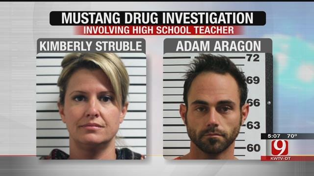 Canadian County Investigators Find Drugs In Mustang Teacher's Home