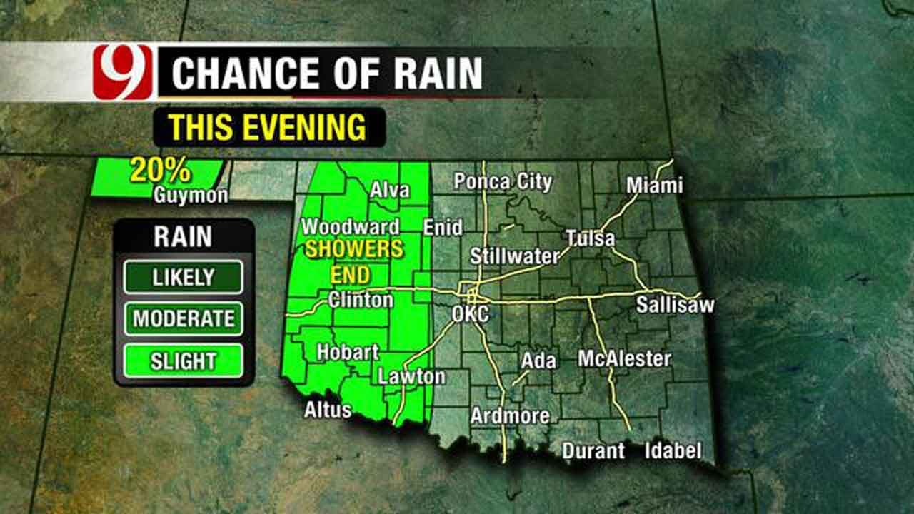 Cool Fall Weather, Slight Rain Chances Expected In Oklahoma This Weekend