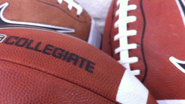 Edmond Memorial 'Football Shagger' Is A Fixture On The Sideline