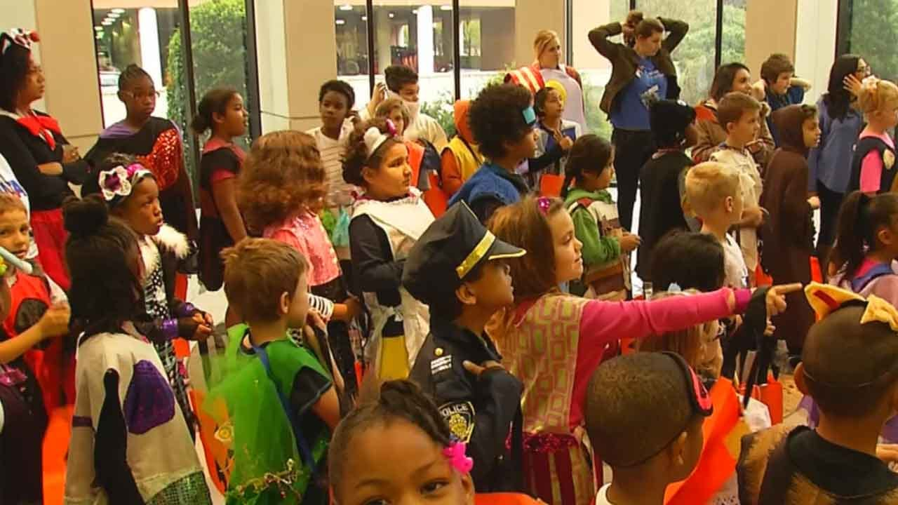 Homeless, Low-Income OKC Children Treated To Halloween Surprise