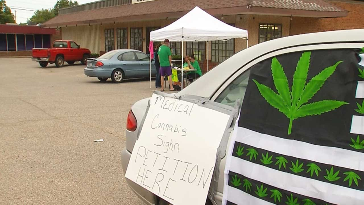 Medical Marijuana Supporters Hit The Streets For Signatures