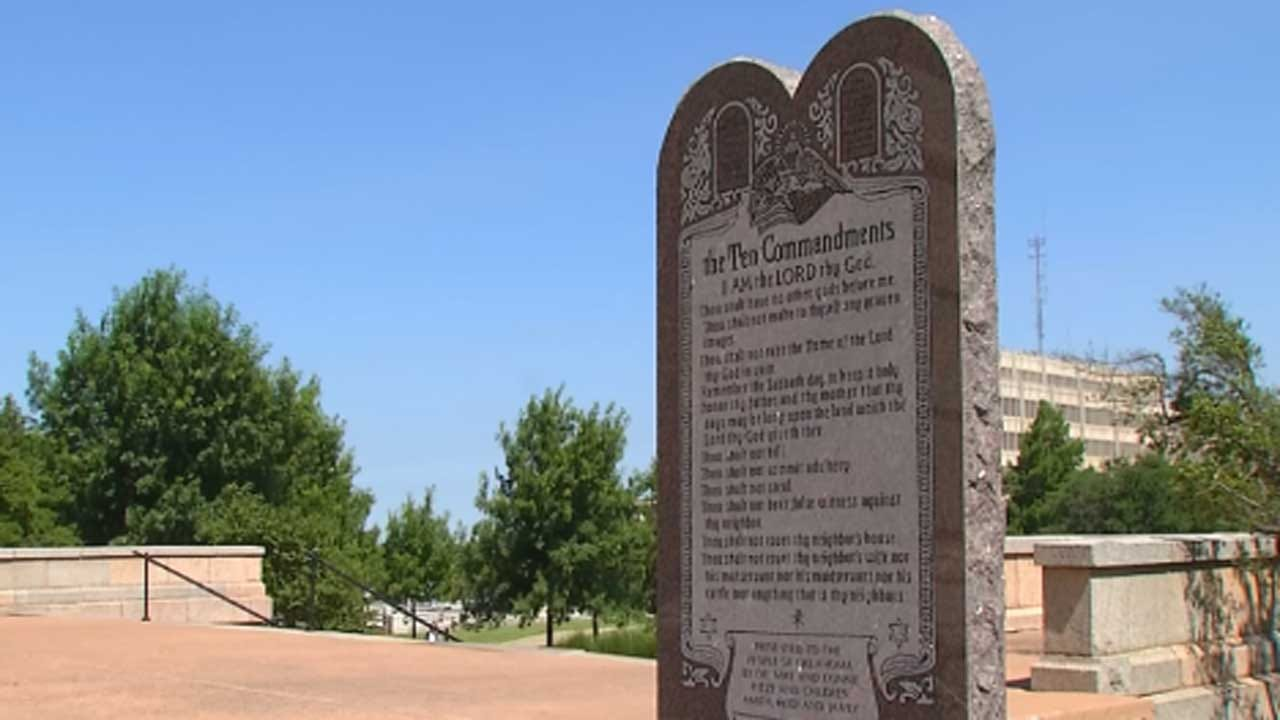 Removal Date Set For Ten Commandments Monument