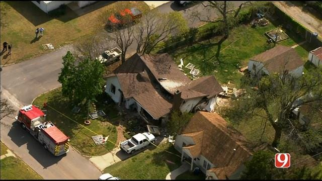One Injured In Reported Home Explosion In El Reno